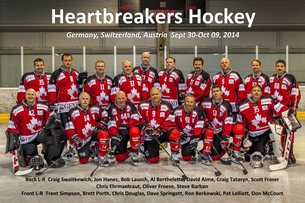 Team Photo 2014 Heartbreakers
