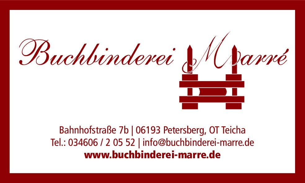 Buchbinderrei Marré